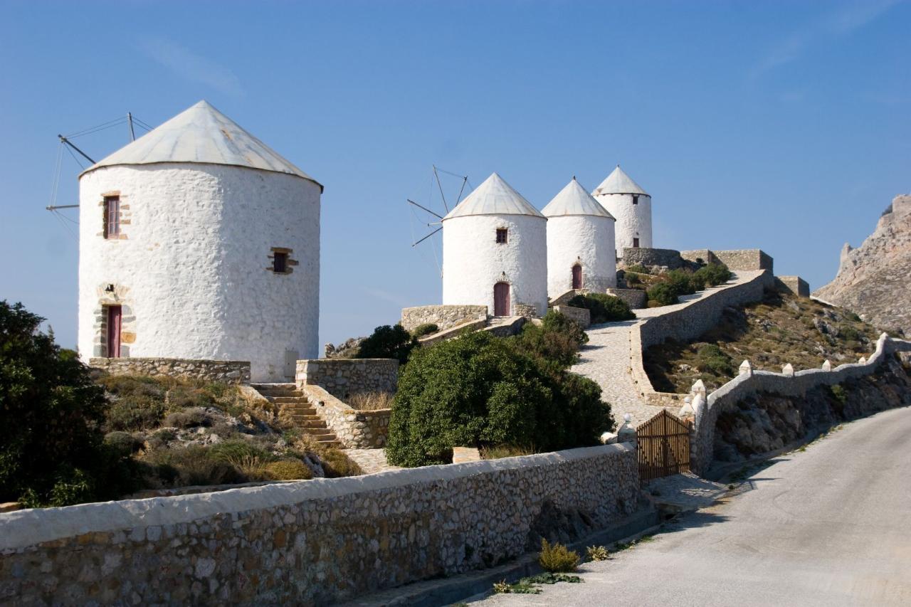 Windmills - Leros Island