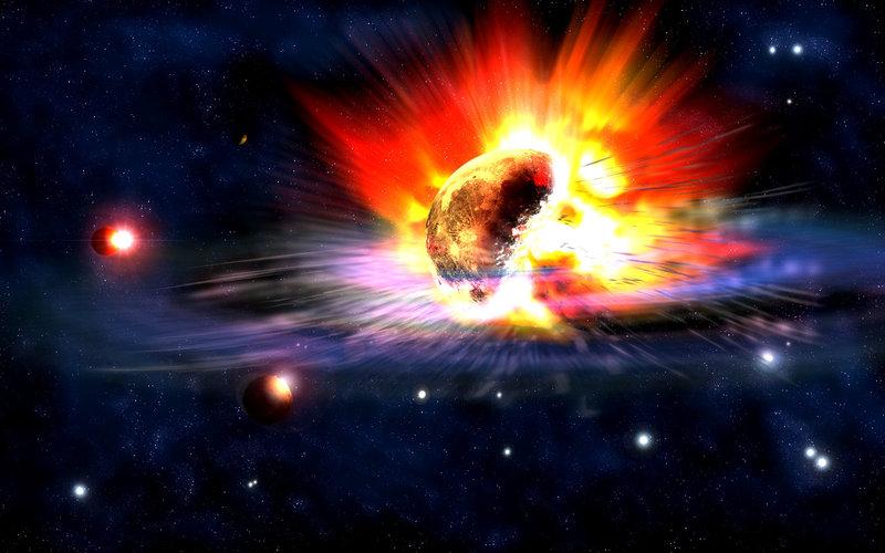 Big-Bang-Explosion