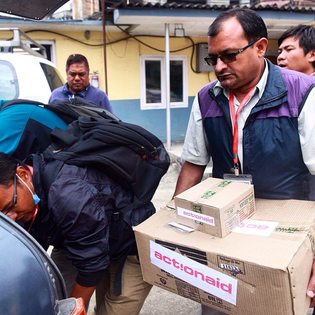 ActionAid Nepal Distribution 3